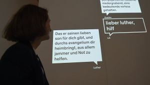 SMS-Chat mit Luther.