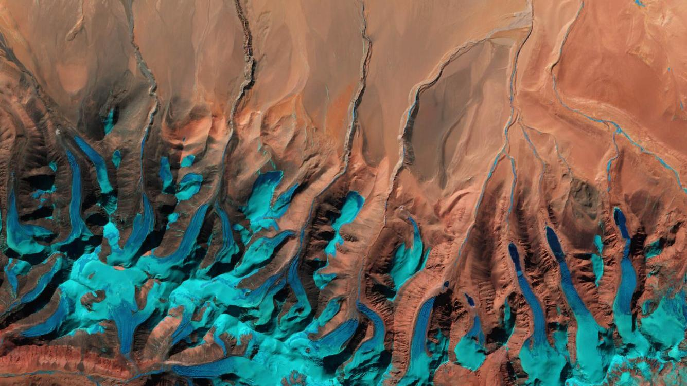 Tibetanisches Hochland. (Quelle: Contains modified Copernicus Sentinel data [2016], processed by ESA )