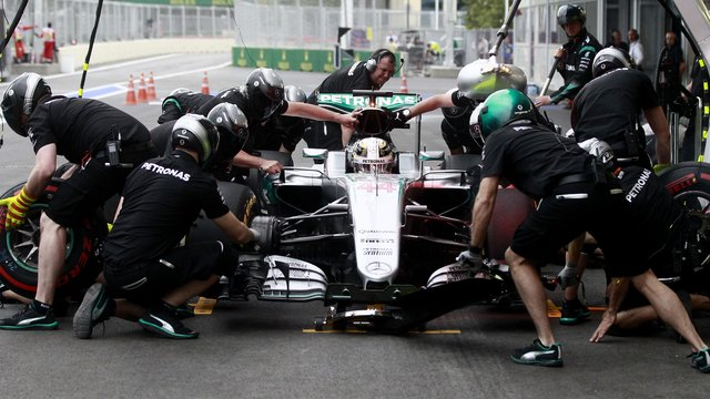 Motorsport: Hamilton Favorit auf die Pole position in Baku
