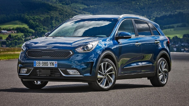 kia niro infos und preise zum hybrid suv. Black Bedroom Furniture Sets. Home Design Ideas
