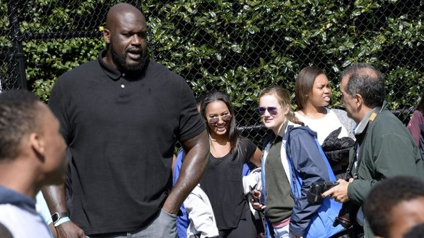 Basketball: US-Präsident Obama schickt NBA-Legende O'Neal nach Kuba. Die Basketball-Legende Shaquille O'Neal (l.