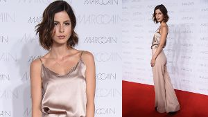 Lena Meyer-Landrut bei der Berliner Fashion Week.