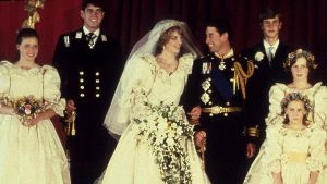 Prinz Charles und Lady Diana heirateten am 29. Juli 1981 in der Londoner St. Paul's Kathedrale.