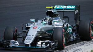 Nico Rosberg sichert sich die Pole Position in Ungarn.
