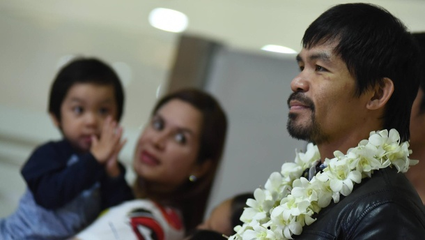 Box-Legende Manny Pacquiao gibt Comeback. Steigt wieder in den Ring: Boxlegende Manny Pacquiao. (Quelle: imago/ZUMA press)