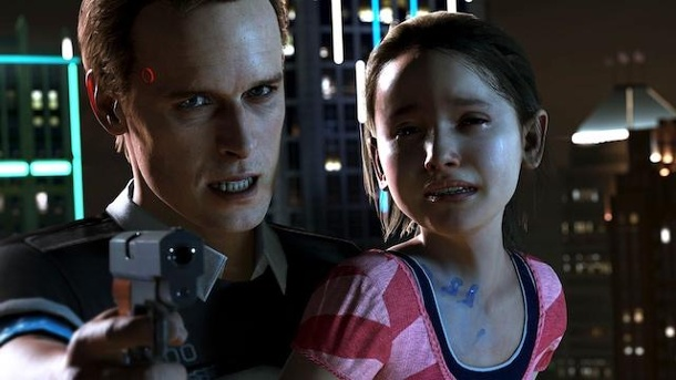 "Detroit: Become Human - First-Look auf das PS4-Adventure. Insbesondere der Verzicht auf ein klassisches Game Over macht ""Detroit: Become Human"" unglaublich reizvoll. (Quelle: Sony Interactive Entertainment)"