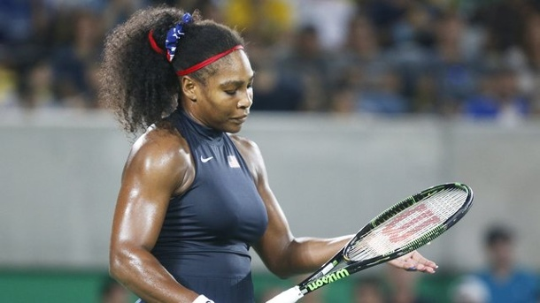 Tennis: Serena Williams sagt für Cincinnati ab. Serena Williams hat Probleme mit der Schulter.