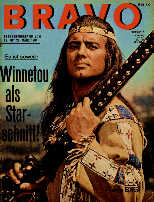 Pierre Brice als Winnetou (Quelle: Bauer Media Group/BRAVO)