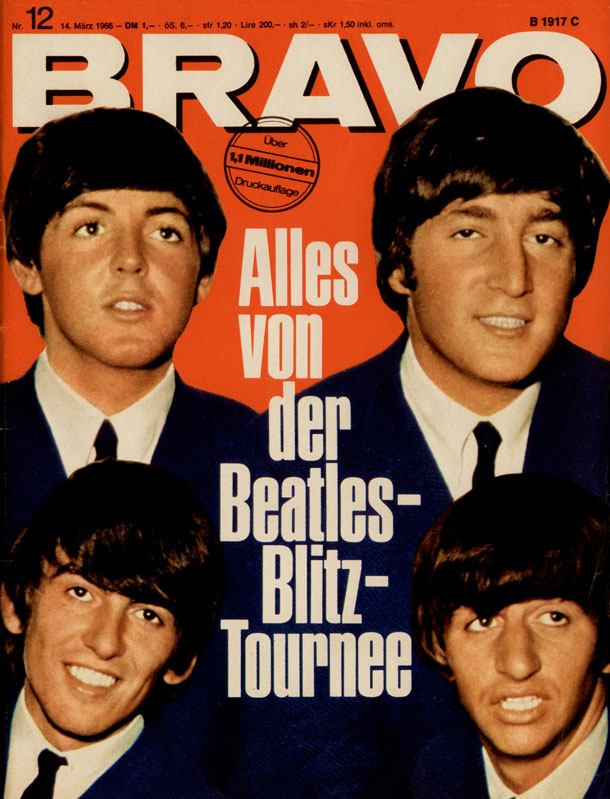 Beatles (Quelle: Bauer Media Group/BRAVO)