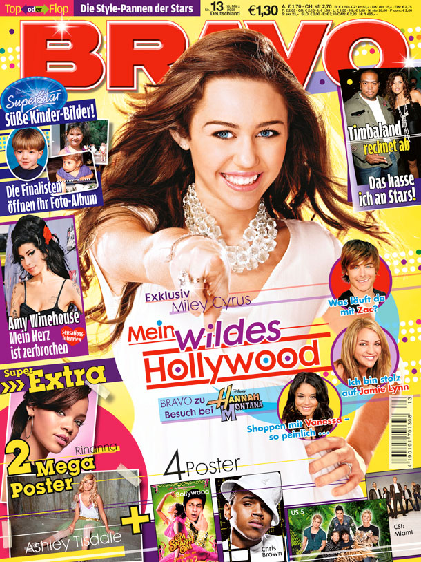 Miley Cyrus (Quelle: Bauer Media Group/BRAVO)