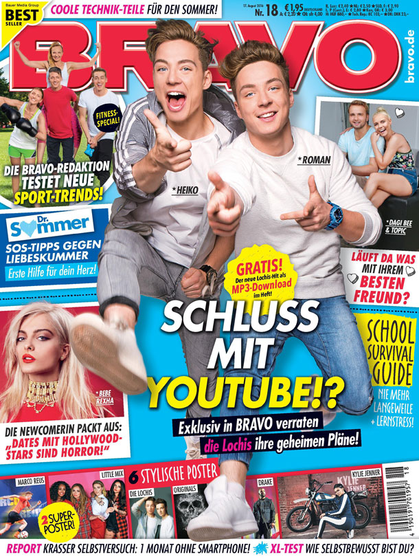 Die Lochis (Quelle: Bauer Media Group/BRAVO)