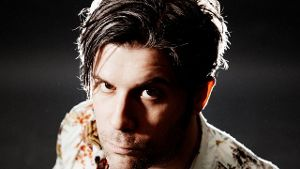 From the wild side: Ed Harcourt.