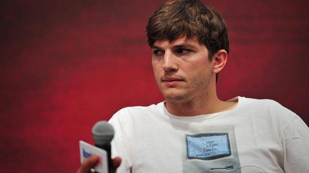 "Ashton Kutcher: ""Jagen ist ein wunderbarer Sport"".  (Quelle: imago/China Fotp Press)"