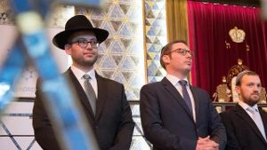 Rabbiner-Ordination in Frankfurter Synagoge (Quelle: dpa)