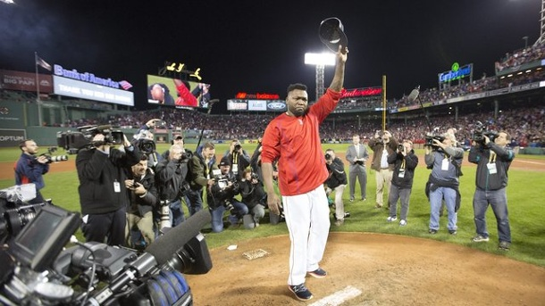 Baseball: Karriere-Ende für Red-Sox-Star Ortiz nach Playoff-Aus. David Ortiz (M.