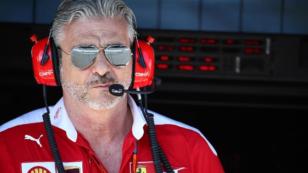 Formel 1: Ferrari-Boss Arrivabene dementiert Kündigung vehement. Maurizio Arrivabene steht bei Ferrari mächtig in der Kritik. (Quelle: imago/Crash Media Group)