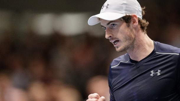 Tennis: Murray gewinnt Tennis-Turnier in Wien. Der Brite Andy Murray gewann in Wien.
