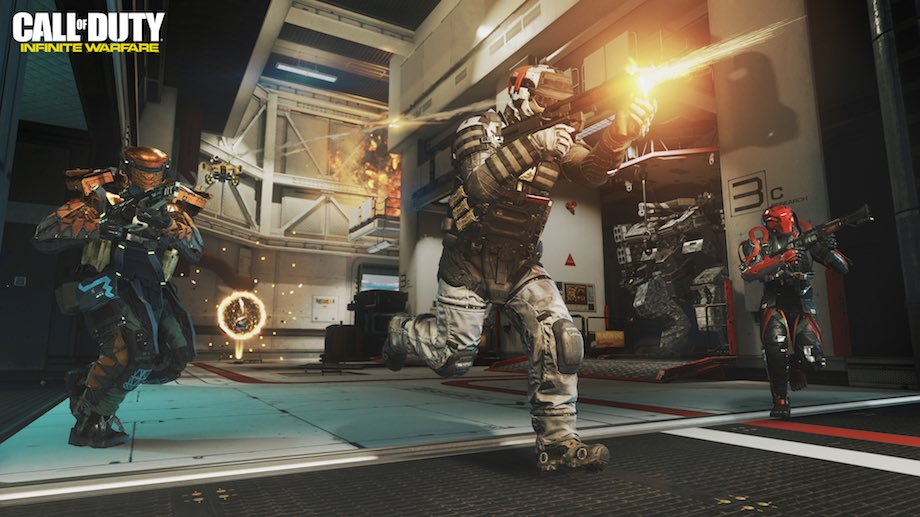 CoD: Infinite Warfare Ego-Shooter von Infinity Ward für PC, PS4 und Xbox One (Quelle: Activision / Infinity Ward)