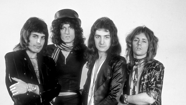 Queen On Air: Historische BBC-Sessions. Queen On Air 1973-1977 (Quelle: BBC Photo Library)
