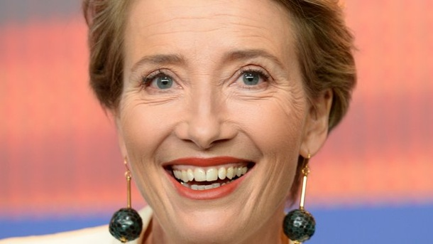 Film: Emma Thompson vermisst frisches Blut in Hollywood. Schauspielerin Emma Thompson in Berlin.