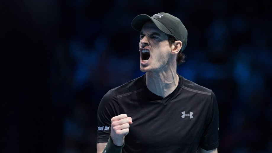Andy Murray steht nach großem Kampf im Finale. (Quelle: dpa/Hayoung Jeon)