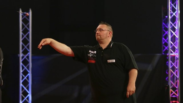 Darts-WM in London: Dragutin Horvat ohne Chance gegen Simon Whitlock
