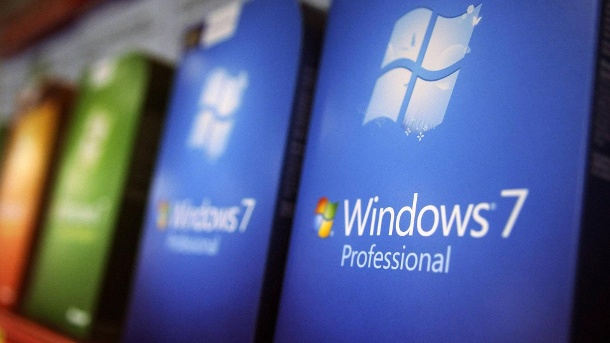 Microsoft erinnert Nutzer an Supportende von Windows 7 ab 2020. Windows 7 ist am 22. Oktober 2009 erschienen. (Quelle: imago/UPI Photo)