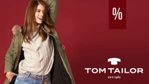 20% on top of Sale bei TOM TAILOR!