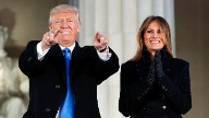 Donald Trump und Melania Trump in Washington. (Quelle: AP/dpa)