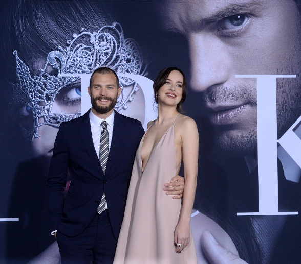 Dakota Johnson und Jamie Dornan (Quelle: imago)