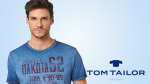 Stylische T-Shirts von TOM TAILOR!