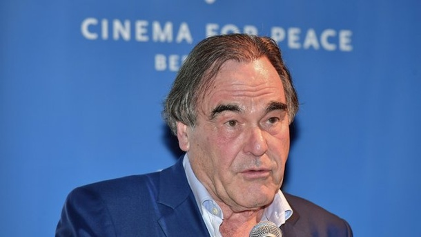 Film: Cinema for Peace ehrt Oliver Stone. US-Regisseur Oliver Stone in Berlin.