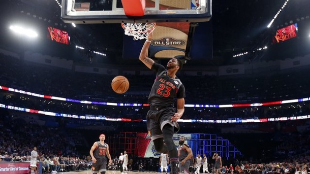 NBA: Anthony Davis bricht Uralt-Rekord bei Allstar Game. Anthony Davis stellte in New Orleans einen neuen Rekord auf.