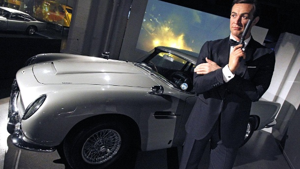 Aston Martin DB5 aus James Bond 007 – Goldfinger und Thunderball  (Quelle: imago/Future Image)