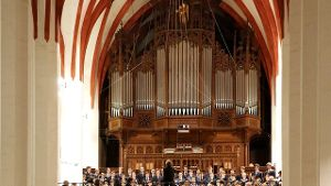 Orgel in der Thomaskirche