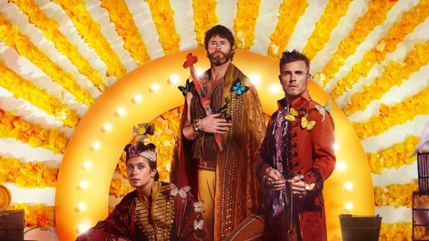"Musik: Take That entführen ins ""Wonderland"". Take That sind die Kings."