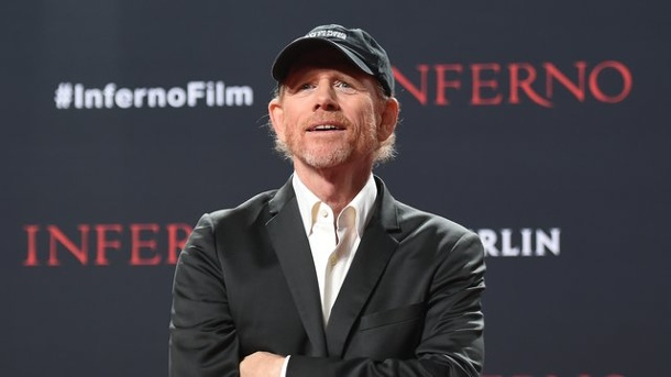"Film: Ron Howard inszeniert ""Hillbilly Elegie"". Ron Howard 2016 in Berlin bei der Deutschlandpremiere des Films ""Inferno""."