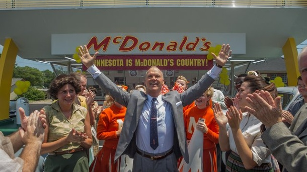"Film - Fast-Food-Drama ""The Founder"": Der Mann hinter McDonald's. Michael Keaton spielt in ""The Founder"" den Handelsvertreter Ray Kroc, der der Fast-Food-Kette McDonald's zum Erfolg verhilft."