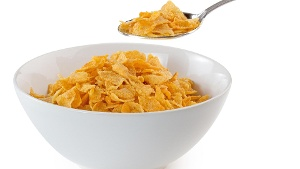 Eine Schüssel Cornflakes (Quelle: Thinkstock by Getty-Images/ClaudioVentrella)