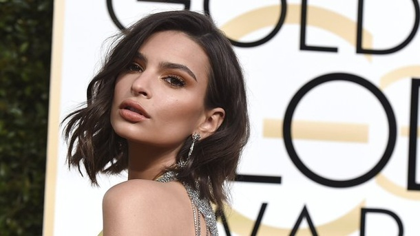 Film: Emily Ratajkowski und Aaron Paul in Gruselthriller. Emily Ratajkowski 2017 in Los Angeles bei den Golden Globe Awards.