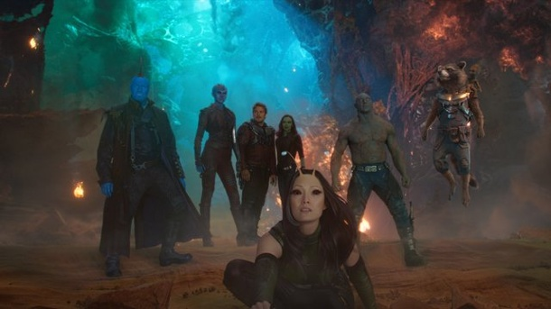 "Film: ""Guardians of the Galaxy 2"" bleibt ganz oben. Filmszene aus ""Guardians of the Galays 2""."