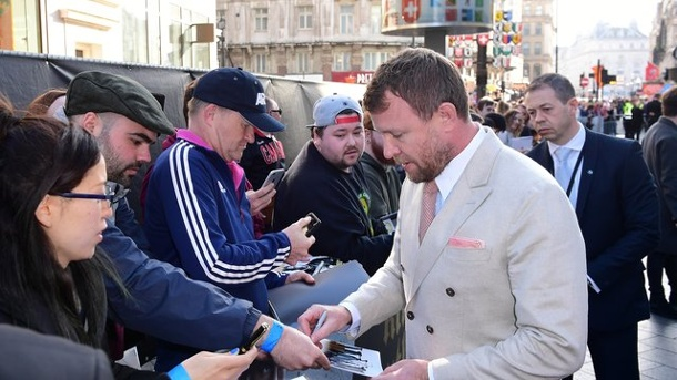 "Film: ""King Arthur"" kommt an ""Guardians"" nicht vorbei. Regisseur Guy Ritchie bei der Europapremiere von ""King Arthur: Legend of the Sword"" in London."