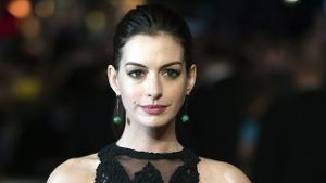 Anne Hathaway 2015 in London.