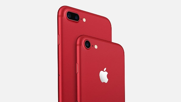 Apple iPhone 9: Angeblich noch größere OLED-Displays. iPhone 7 und 7 Plus, Red-Edition: Noch größere iPhones in Planung? (Quelle: Apple)