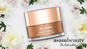 Magic Finish Make-up-Mpusse von asambeauty