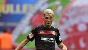 Leverkusens Kevin Kampl in Aktion