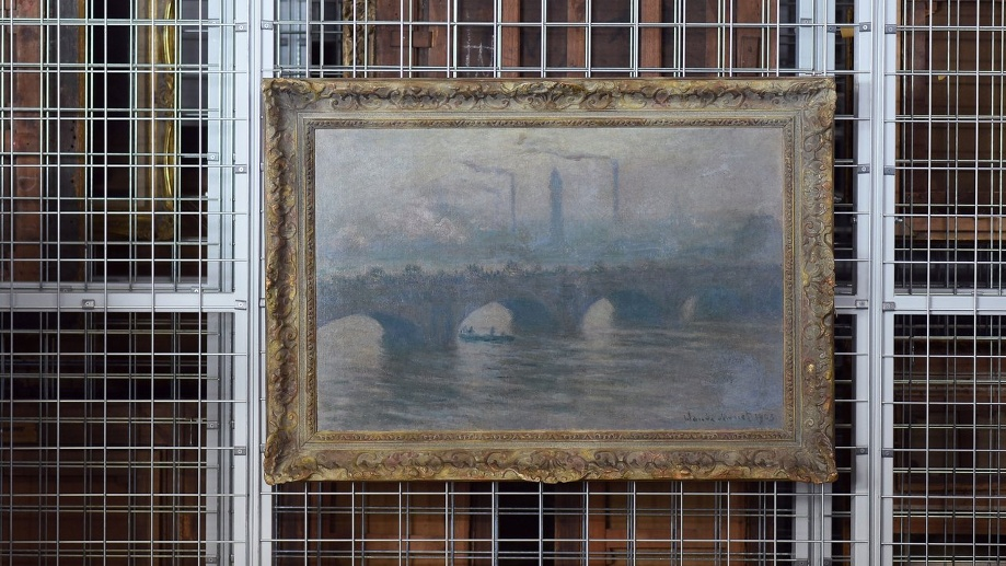 Claude Monet, Waterloo Bridge, 1903. (Quelle: dpa/Henning Kaiser)