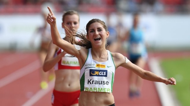 Leichtathletik: Hindernis-Europameisterin Krause siegt - Holzdeppe Zweiter. Gesa Felicitas Krause hat den Hindernislauf beim Diamond-League-Meeting in Rabat gewonnen.