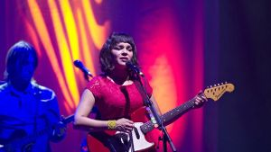 Norah Jones 2012 in der Alten Oper in Frankfurt am Main.