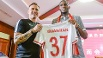 Trainer Fabio Cannavaro bewies Geduld und lockte Anthony Modeste nach monatelangem Poker nach China. (Quelle: imago/Imaginechina)